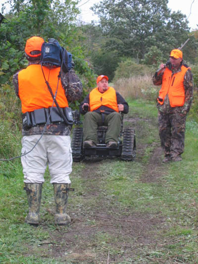 Pheasants Forever Hunt at Ruffwood Game Farm and Actiontrak Chair